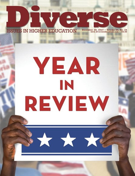 Diverse: Issues In Higher Education Cover - 12/28/2017