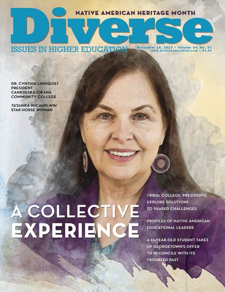 Diverse: Issues In Higher Education Cover - 11/16/2017