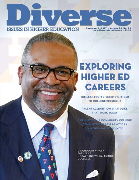 Diverse: Issues In Higher Education Cover - 11/2/2017