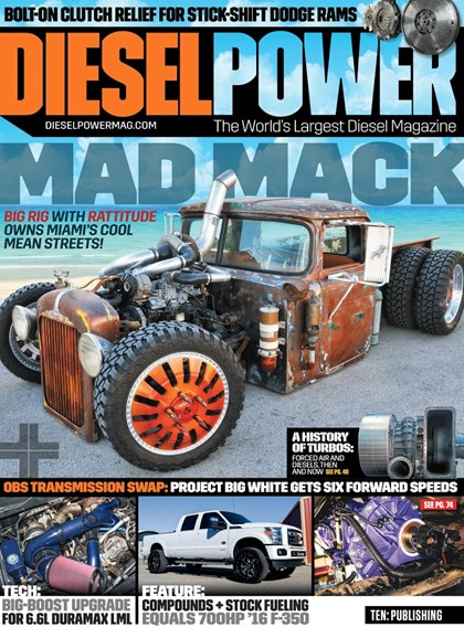 Diesel Power Cover - 9/1/2018