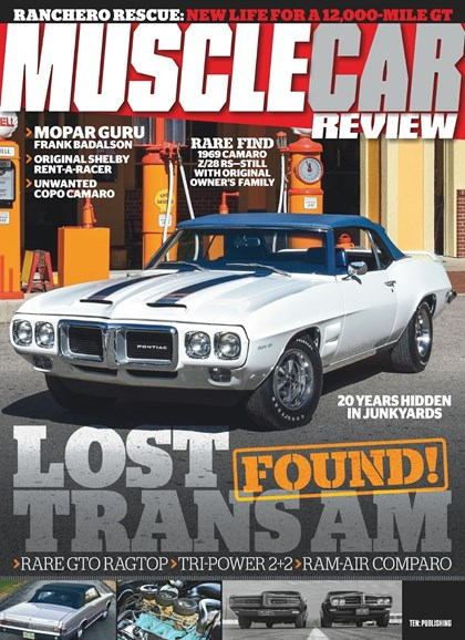 Muscle Car Review Cover - 8/1/2018