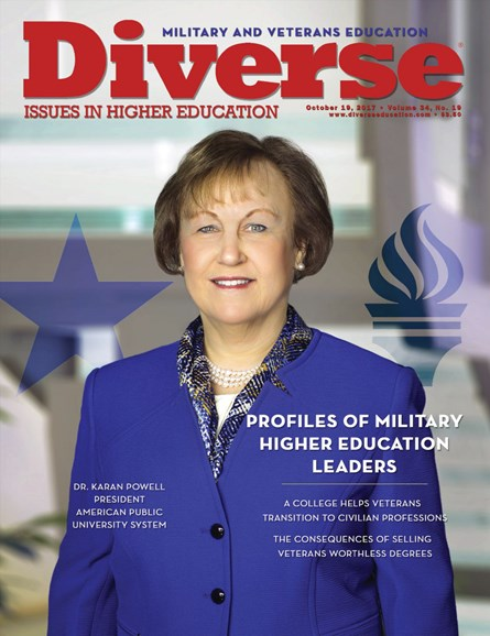 Diverse: Issues In Higher Education Cover - 10/19/2017