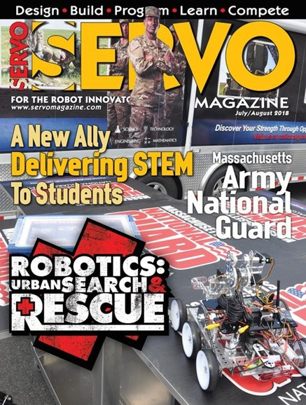 Servo Magazine Cover - 7/1/2018