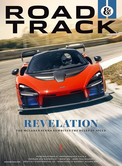 Road & Track Cover - 8/1/2018