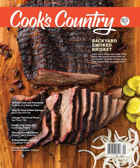 Cook's Country Cover - 8/1/2018