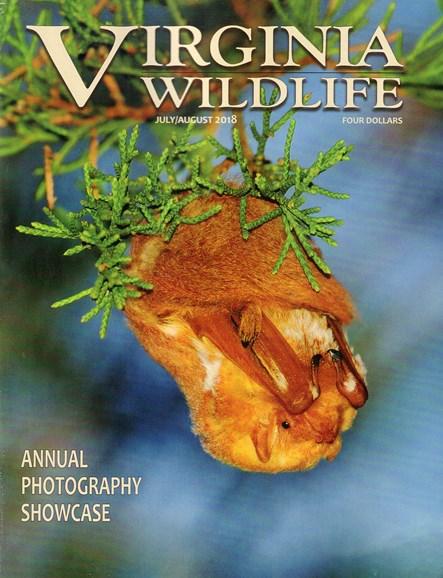 Virginia Wildlife Cover - 7/1/2018