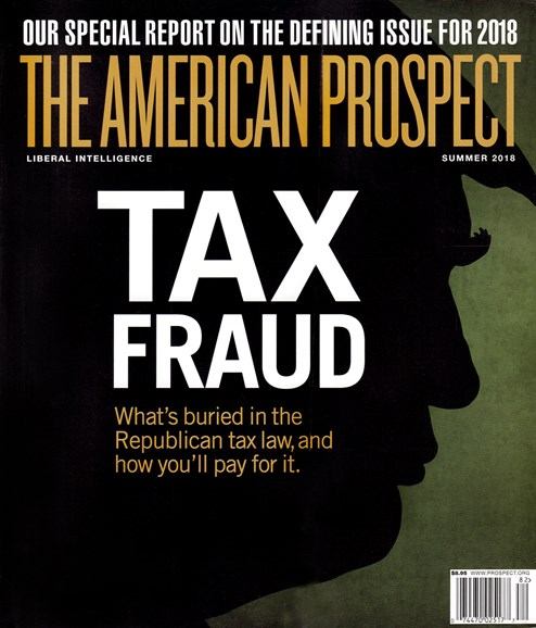 The American Prospect Cover - 7/1/2018