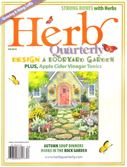 Herb Quarterly Cover - 9/1/2018