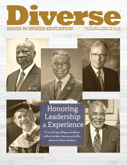 Diverse: Issues In Higher Education Cover - 6/29/2017