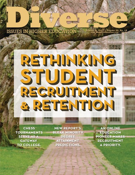 Diverse: Issues In Higher Education Cover - 10/5/2017