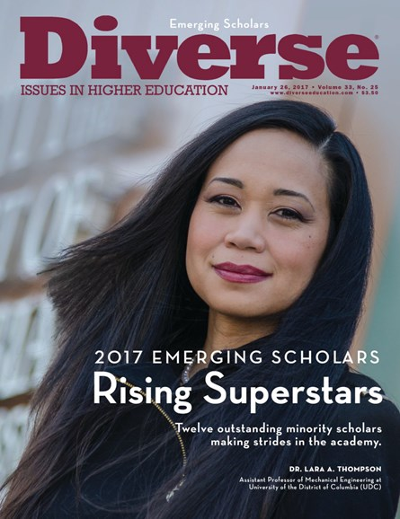 Diverse: Issues In Higher Education Cover - 1/26/2017