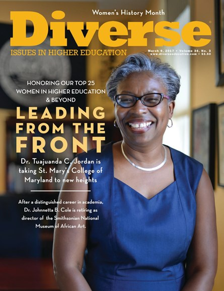 Diverse: Issues In Higher Education Cover - 3/9/2017