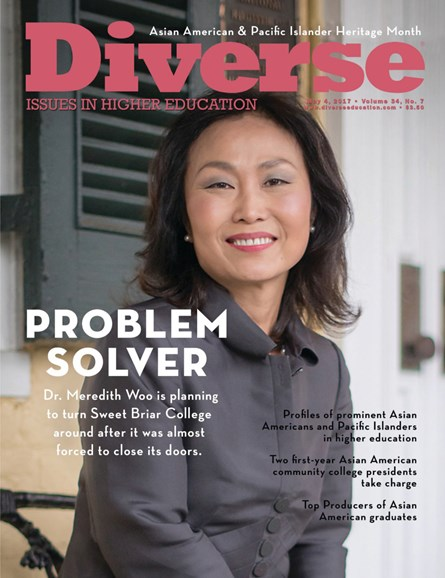 Diverse: Issues In Higher Education Cover - 5/4/2017