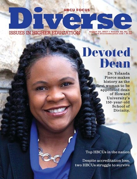 Diverse: Issues In Higher Education Cover - 8/10/2017
