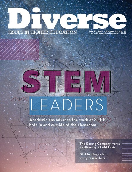 Diverse: Issues In Higher Education Cover - 7/27/2017