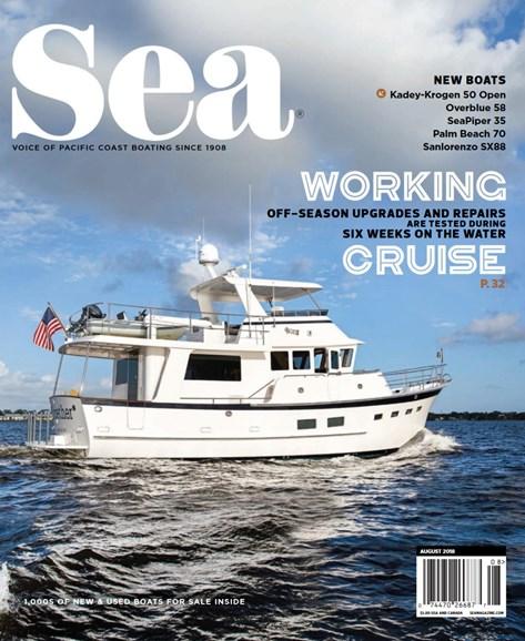 Sea Magazine Cover - 8/1/2018