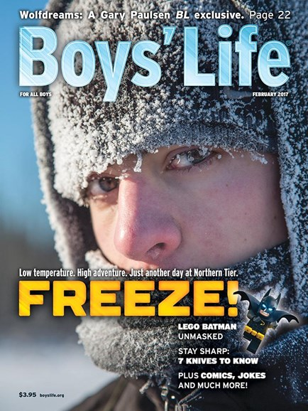 Boy's Life Cover - 2/1/2017