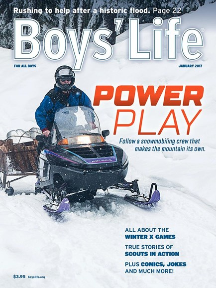 Boy's Life Cover - 1/1/2017