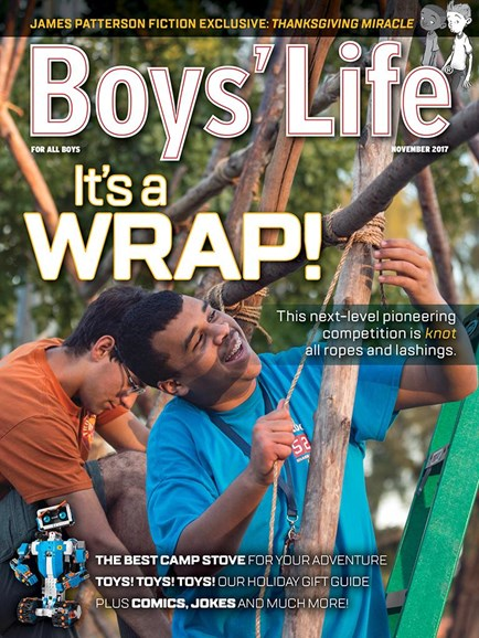 Boy's Life Cover - 11/1/2017