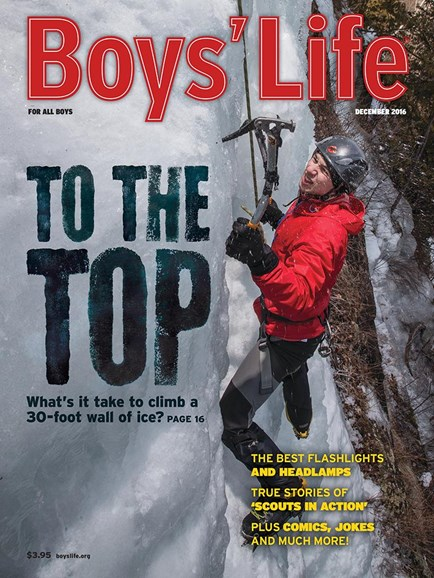 Boy's Life Cover - 12/1/2016