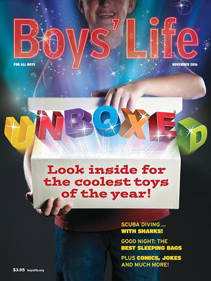 Boy's Life Cover - 11/1/2016