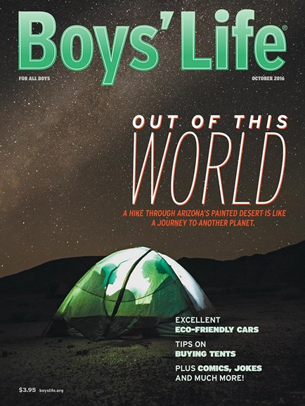 Boy's Life Cover - 10/1/2016