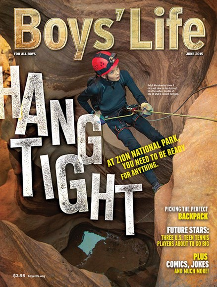 Boy's Life Cover - 6/1/2015