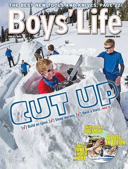 Boy's Life Cover - 12/1/2014