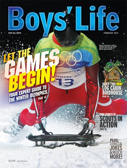 Boy's Life Cover - 2/1/2014