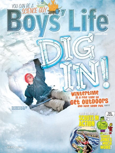 Boy's Life Cover - 1/1/2014