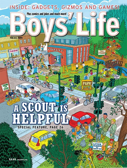 Boy's Life Cover - 11/1/2014