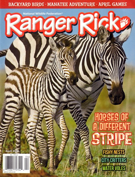 Ranger Rick Cover - 4/1/2018