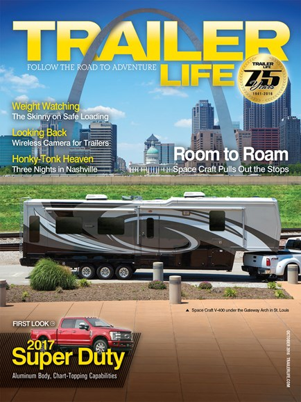Trailer Life Cover - 10/1/2016