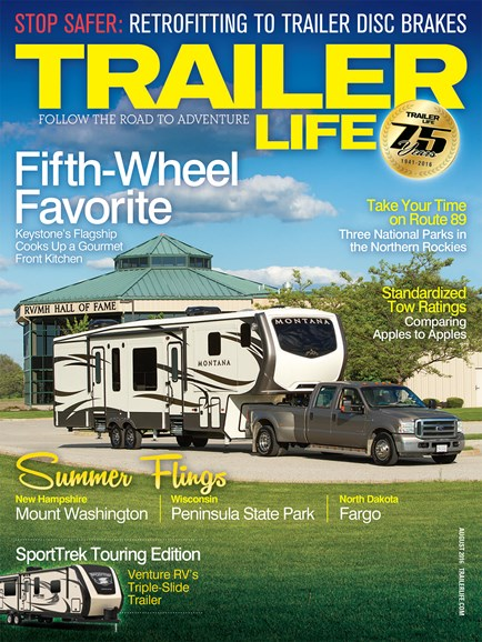 Trailer Life Cover - 8/1/2016