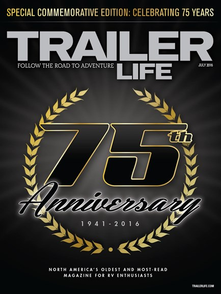 Trailer Life Cover - 7/1/2016