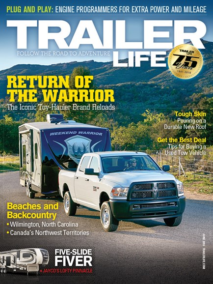 Trailer Life Cover - 6/1/2016