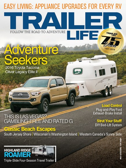 Trailer Life Cover - 4/1/2016