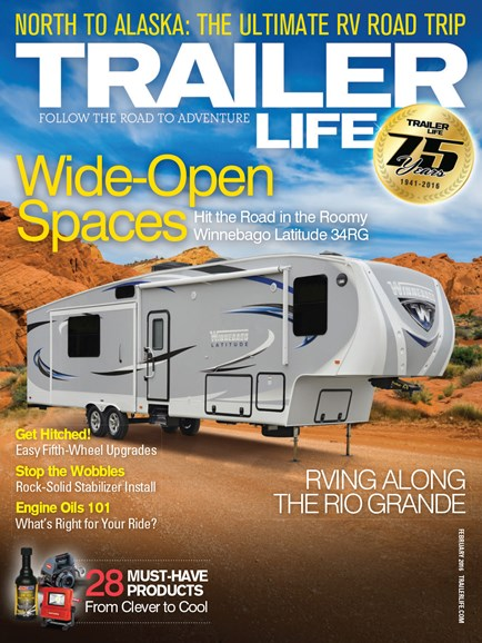 Trailer Life Cover - 2/1/2016