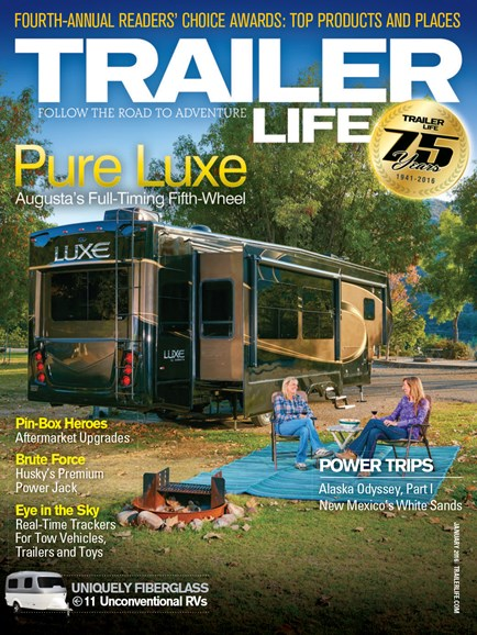 Trailer Life Cover - 1/1/2016