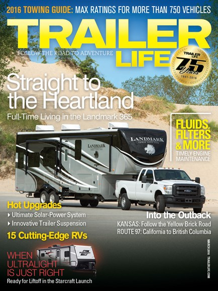 Trailer Life Cover - 3/1/2016