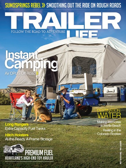 Trailer Life Cover - 8/1/2018