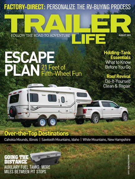Trailer Life Cover - 8/1/2015