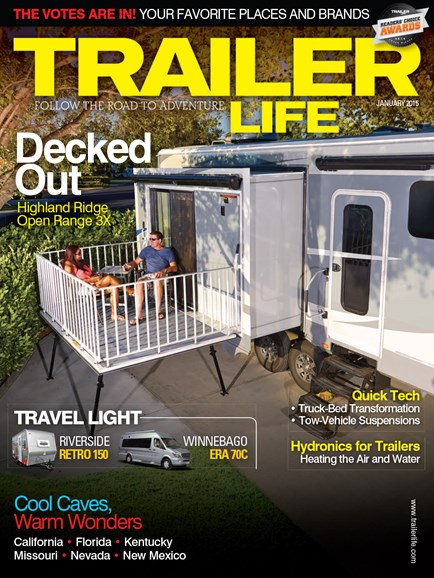 Trailer Life Cover - 1/1/2015