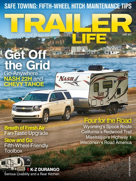 Trailer Life Cover - 6/1/2015