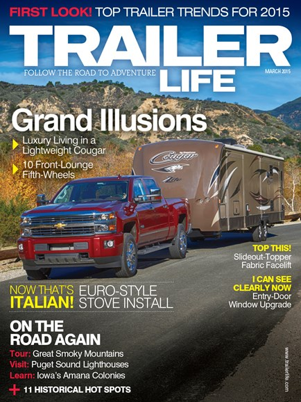 Trailer Life Cover - 3/1/2015
