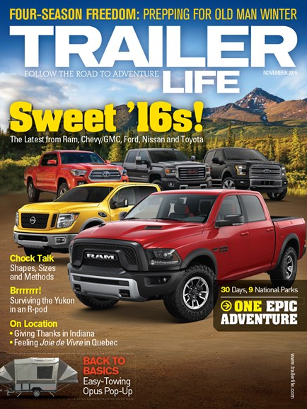 Trailer Life Cover - 11/1/2015
