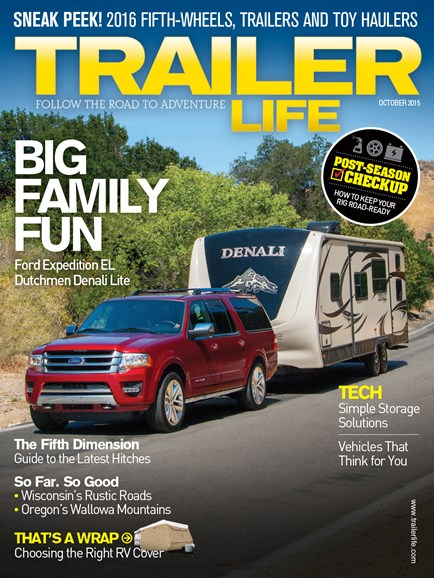 Trailer Life Cover - 10/1/2015