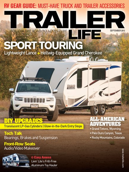 Trailer Life Cover - 9/1/2015