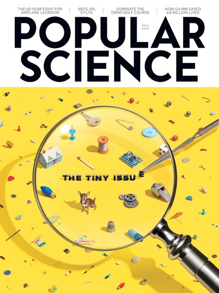 Popular Science Cover - 9/1/2018