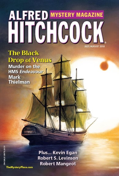 Alfred Hitchcock Mystery Magazine Cover - 7/1/2018